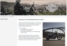 Harley Davidson Gewinnspiel