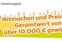 Jungborn Gewinnspiel Preise im Wert von über 10.000€ gewinnen