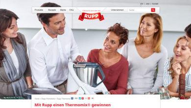 Rupp Gewinnspiel Thermomix Premium Paket gewinnen