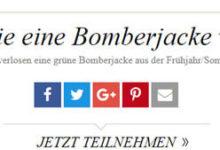 Vogue Gewinnspiel Bomberjacke von Airfield gewinnen