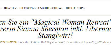 Vogue Gewinnspiel Luxus-Yoga-Wochenende in Kitzbühel