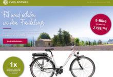 Yves Rocher Gewinnspiel E-Bike gewinnen