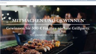 Babista Gewinnspiel Grill-Budget in Höhe von 500 € gewinnen