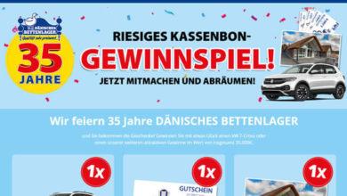 Dänisches Bettenlager Gewinnspiel VW T-Cross gewinnen