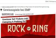 EMP Gewinnspiel Tickets für Rock am Ring gewinnen