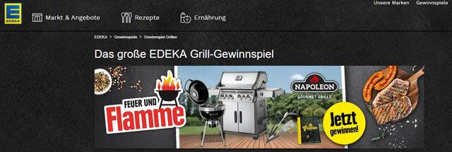 Edeka Grill Gewinnspiel