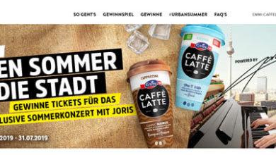 Emmi Caffè Latte Gewinnspiel