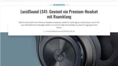 Gamez Gewinnspiel Premium-Headset gewinnen