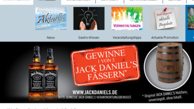 Gefako Gewinnspiel Original JACK DANIEL'S Holzfass gewinnen!
