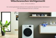 """Glamour Gewinnspiel Waschmaschine Bauknecht """"WM Steam 8 100"""" gewinnen"""