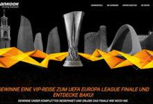 Hankook Gewinnspiel VIP-Reise zum UEFA Europa League Finale gewinnen