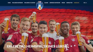 Paulana Gewinnspiel Eintrittskarten zu Heimspiel des FC Bayern München gewinnen