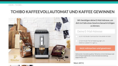 Cosmopolitan Gewinnspiel Tchibo-Kaffeevollautomat + Kaffee gewinnen