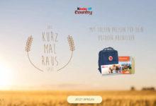Kinder Country Gewinnspiel Reise-Preise gewinnen