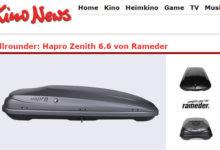 KinoNews Gewinnspiel Auto-Dachbox gewinnen