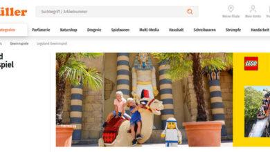 Müller Gewinnspiel Familienausflug ins LEGOLAND Deutschland gewinnen