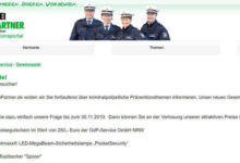Polizei Gewinnspiel Reisegutschein gewinnen