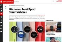 Smart-Wohnen.de Gewinnspiel Fossil Sport Smartwatch gewinnen