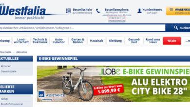 Westfalia Gewinnspiel E-Bike gewinnen